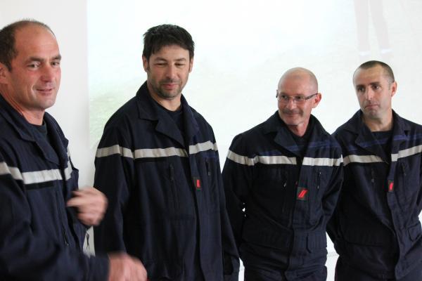 Quatre pompiers de Malafretaz ont reçu leurs galons des mains du maire