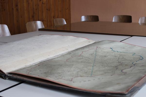 Un document unique conservé précieusement à la Mairie