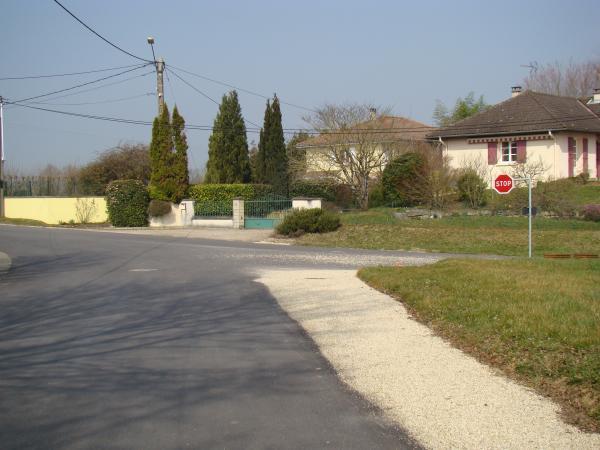 carrefour route de Pillebois-route des Anciens Combattants