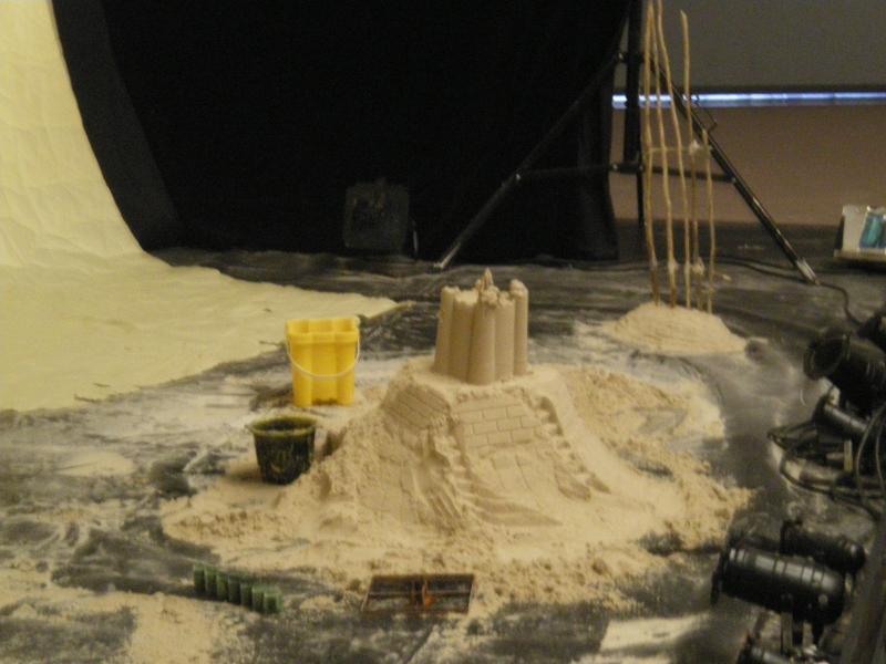 le château de sable