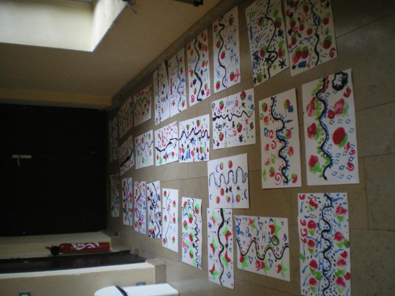 L'ensemble des dessins réalisés au cours de l'atelier